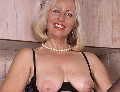 Kinky Granny Telephone Play - Call Now